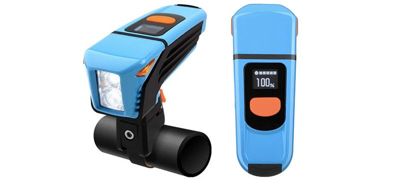 Illustration for article titled A Rechargeable Bike Light That Tells You Exactly When It Will Die