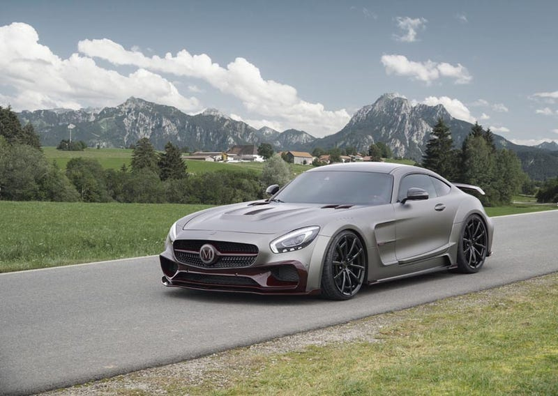Mansory Goes Overboard on the Mercedes-AMG GT - Mercedes AMG