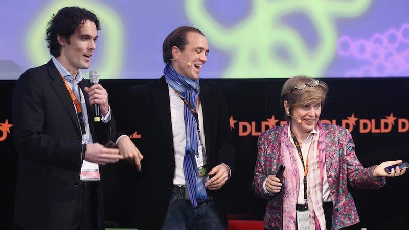 Philipp Schindler, left, in 2010 (Image: Getty)