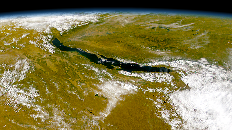 Lake Baikal, the largest freshwater lake in the world by volume. (Image: BDK)