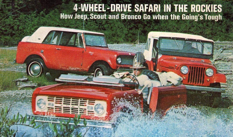 A Brief History And List Of Truck-Based SUVs