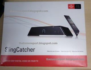 Illustration for article titled Leaked SlingCatcher Packaging Shots Reveal Specs?