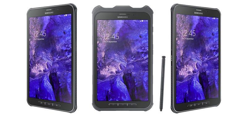 Illustration for article titled Samsung Galaxy Tab Active: ocho pulgadas a prueba de agua y golpes