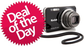 Illustration for article titled This 14MP Kodak Digital Camera Is Your Glossy Black Deal of the Day