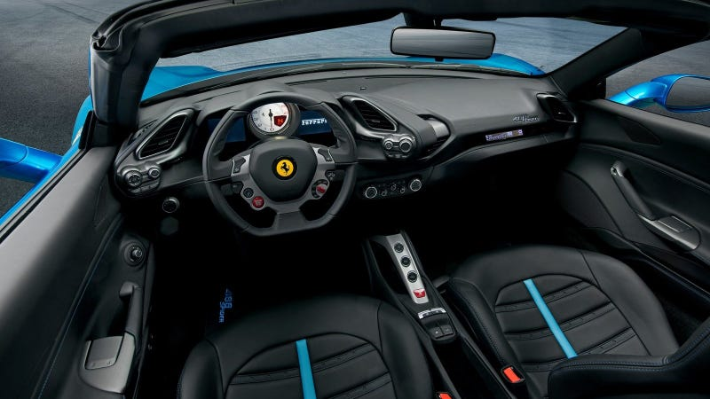 Illustration for article titled I Still Can't Get Over How Comfortable The 488 Spider Was At 150 MPH