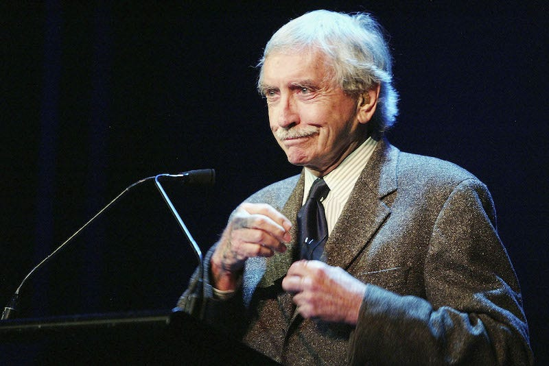 The late playwright Edward Albee / Image via Getty