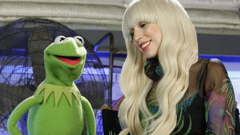 Illustration for article titled Lady Gaga And The Muppets' Holiday Spectacular
