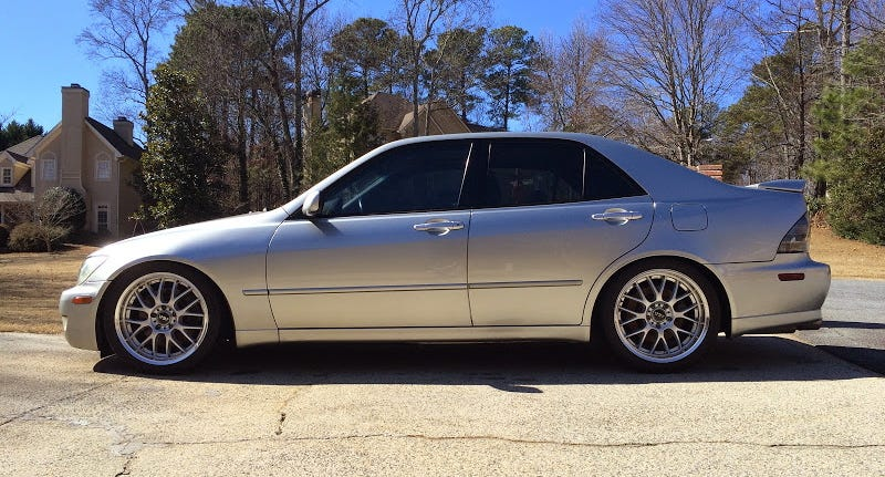 Illustration for article titled Would You Go $22,000 For This LS3-Powered 2001 Lexus IS300?