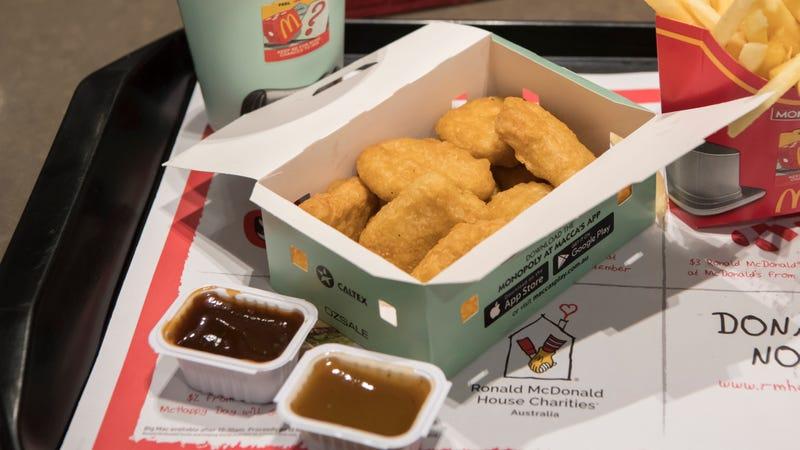 McDonald's standard chicken nuggets