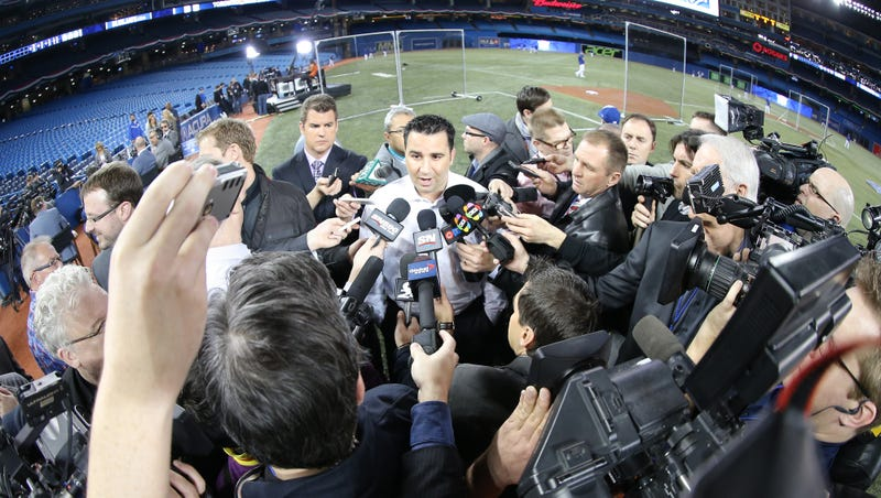 Illustration for article titled GM Alex Anthopoulos Shockingly Leaves The Blue Jays, Who Might Be Getting Cheap