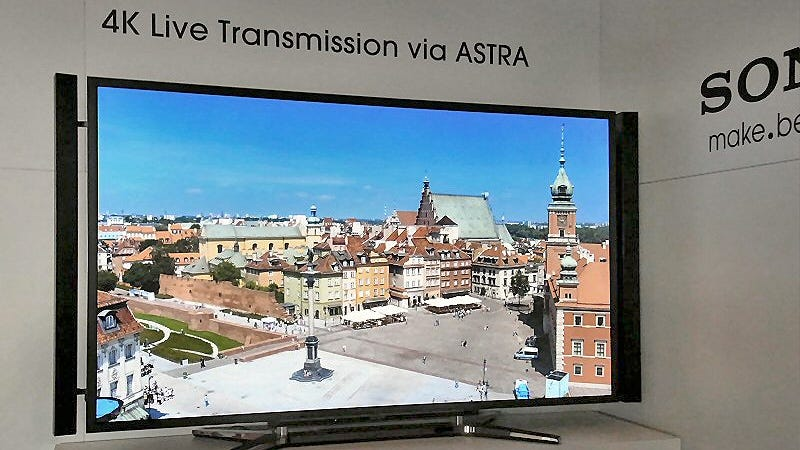 Illustration for article titled Sony's Squeezing 4K TV Transmissions So They Can Actually Make It to Your TV