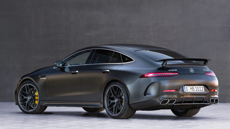 The 2019 mercedes amg gt 4 door coupe is how you haul the for Mercedes benz amg gt coupe price