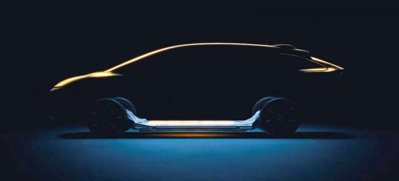 Illustration for article titled Watch Faraday Future Reveal Its Real Car Live Right Now