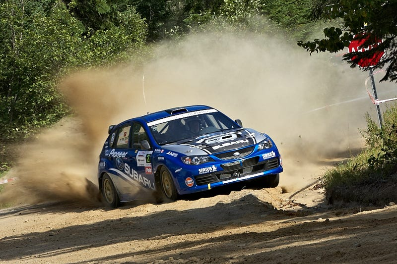 """Illustration for article titled 2014 Canadian Rally Championship Gets """"Launch Control"""" Treatment"""