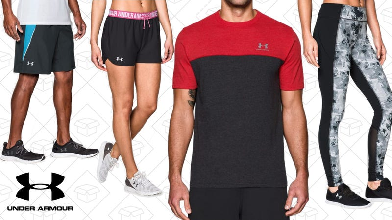 Extra 25% off Under Armour Outlet styles