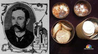Illustration for article titled US Government Says Time Capsule Coins Weren't Stolen From Them In 1901
