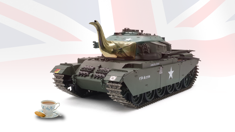 Illustration for article titled British Tanks Have Had Tea-Making Equipment Installed Since WWII