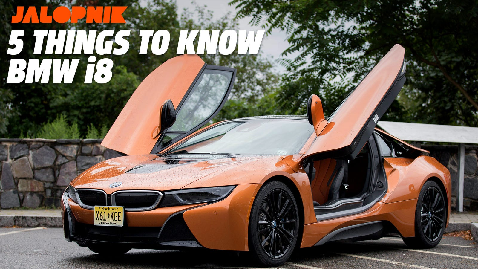 Five Things To Know About The Futuristic Bmw I8