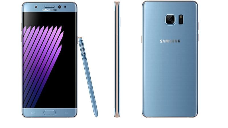 Illustration for article titled Following fiery fiasco, Samsung halts production of the Galaxy Note 7