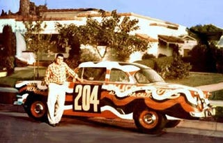 Illustration for article titled Mickey T And His 1954 Panamericana Car