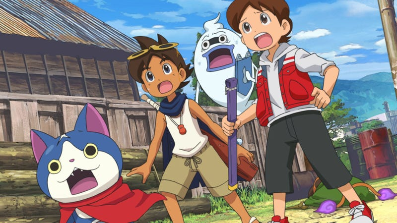 Illustration for article titled Yo-Kai Watch: The Movie Is As Whimsical As Saving The World From Evil Spirits Gets