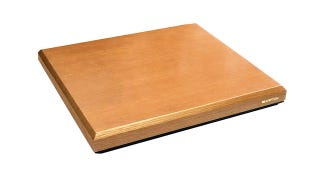 "Illustration for article titled $650 ""Audio Vibration Neutralizing"" Board Would Be More Effective As a Chopping Board"