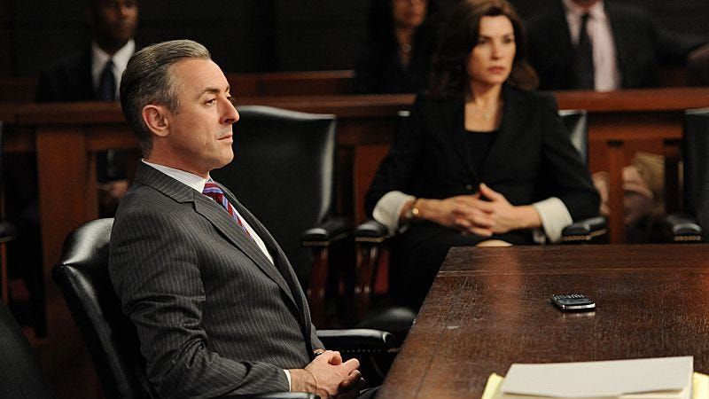 """Illustration for article titled The Good Wife: """"Going For The Gold"""""""