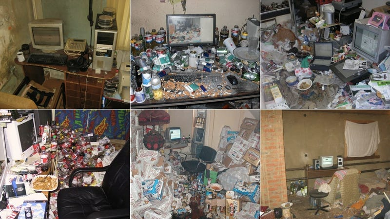 Illustration for article titled These Disgustingly Gross Home Offices Will Make You Vomit