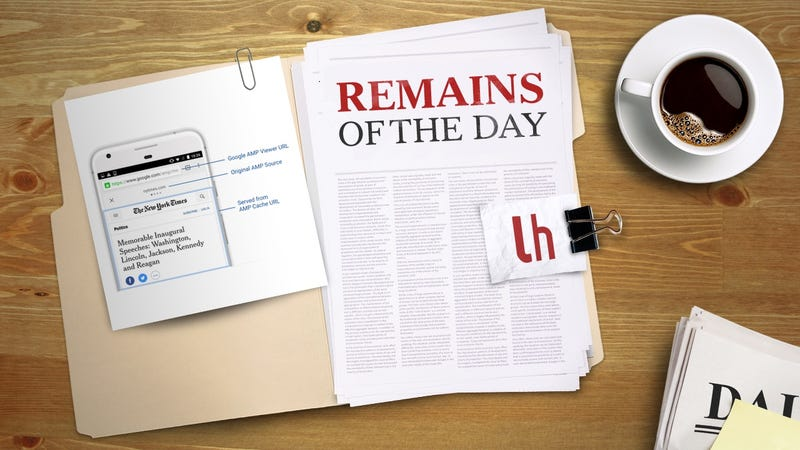 Illustration for article titled Remains of the Day: Google Is Making it Easier to Share AMP Articles