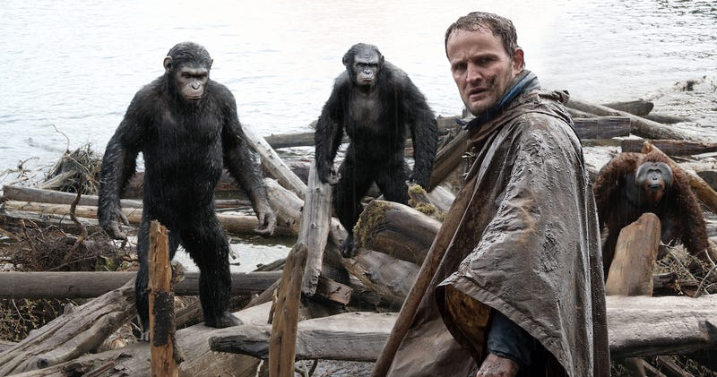 Illustration for article titled Una escena eliminada de War for the Planet of the Apes revela qué sucedió con un protagonista de la saga