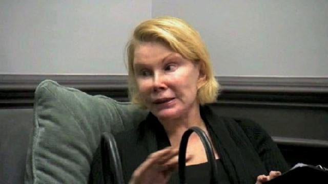 This Is What Joan Rivers Looks Like Without Makeup