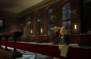 Illustration for article titled Lego Batman Gains Lego Butler