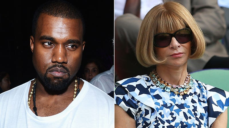 Illustration for article titled Kanye Pitches Baby Photos To Vogue, Anna Wintour's Like 'As If'