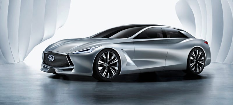 Illustration for article titled The Infiniti Q80 Is Neat But Won't Look Anything Like The Actual Car