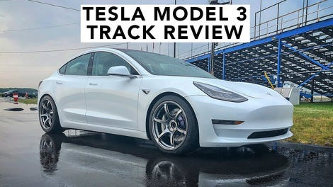 Here S What Tire Suspension And Brake Upgrades Can Do For The Tesla Model 3