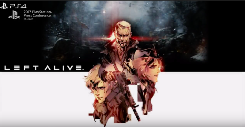 Illustration for article titled First Look At Square Enix'sLeft Alive for PlayStation 4