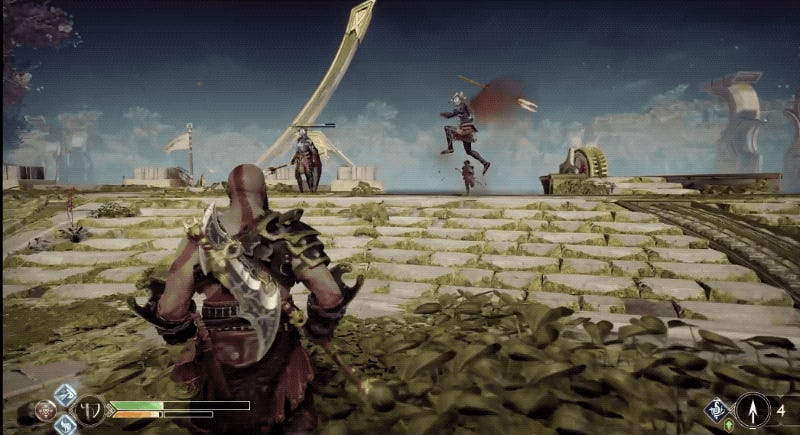 Five God Of War Moves I Never Used Before New Game+