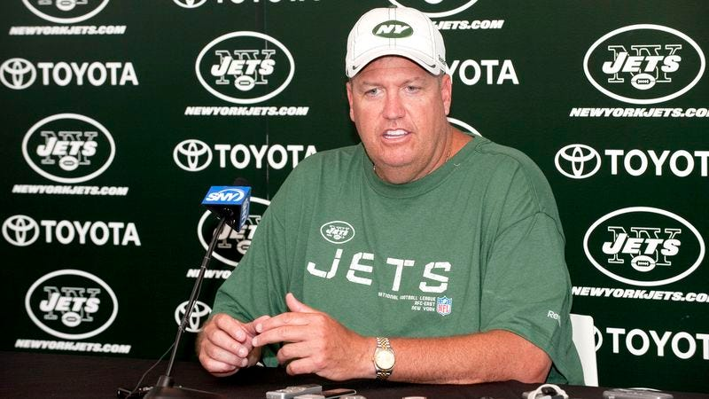 Illustration for article titled Rex Ryan: 'Mark Sanchez Was Absolutely Our Quarterback This Year'