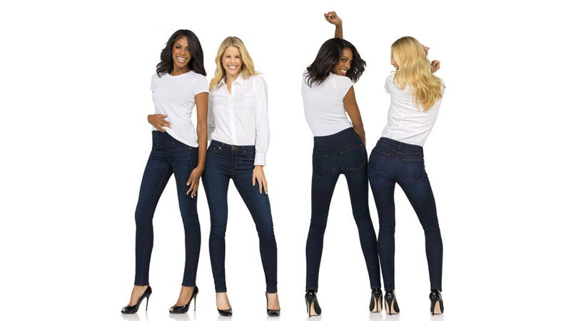 Illustration for article titled Constricting Torture Device Spanx Now Available in the Form of Jeans