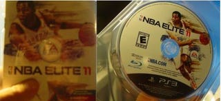 Illustration for article titled Someone Claims To Have A Retail Disc Of NBA Elite 11