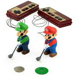 Illustration for article titled Mini Golfing Mario & Luigi Set