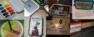 Illustration for article titled Instructables' Best DIY Altoids Tin Projects