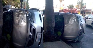 Illustration for article titled Top Gear USA Host Eric Stromer Rolls Camry Hybrid In Hollywood