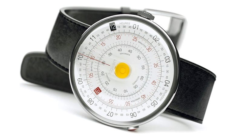 Illustration for article titled It's Easier To Tell Time Than do Math on This Slide Rule Watch
