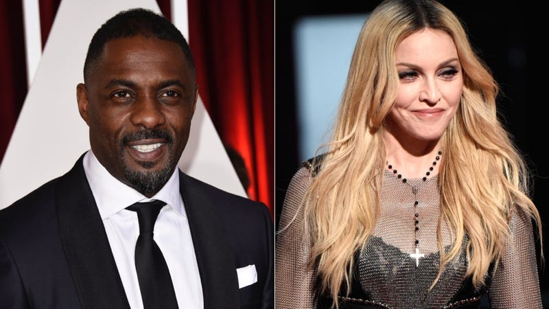 Illustration for article titled Idris Elba and Madonna Have a Moment