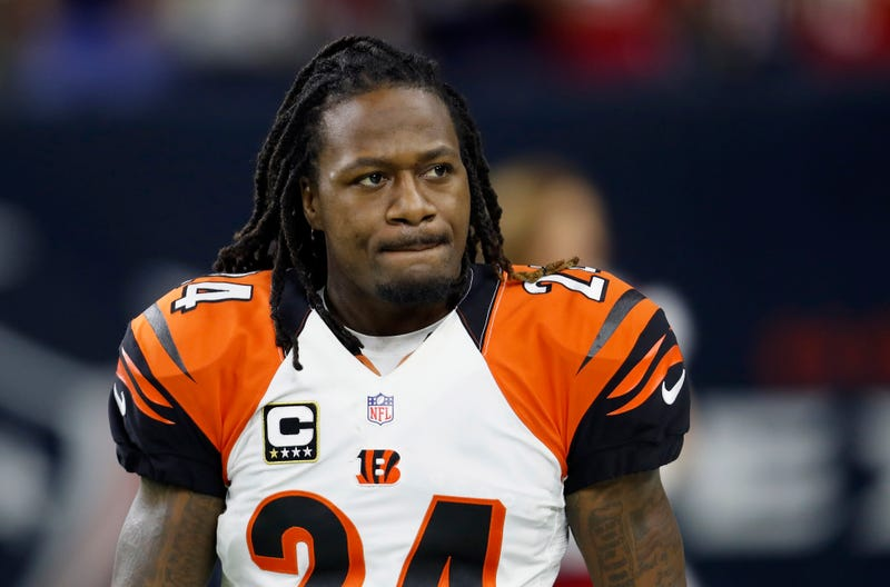 Adam Jones #24 of the Cincinnati Bengals walks on the field before the game against the Houston Texans at NRG Stadium on December 24, 2016 in Houston, Texas.