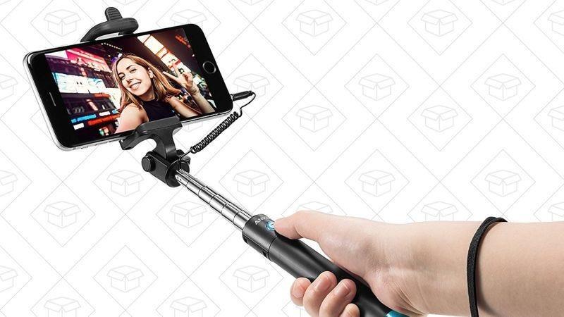 Palo selfie de Anker, $8 con código BEST7160