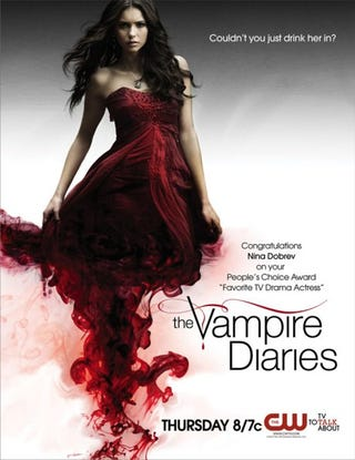 Illustration for article titled The Vampire Diaries Poster