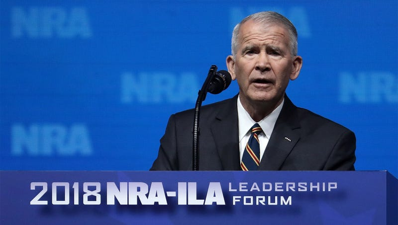 Illustration for article titled NRA Touts Oliver North's Expertise At Avoiding Jail Time For Colluding With Hostile Foreign Powers
