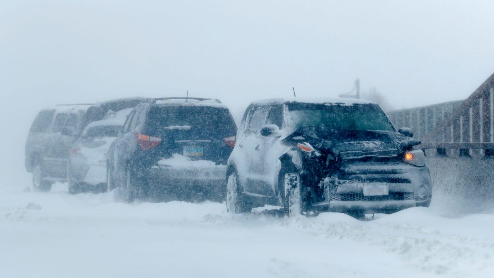 Historic Bomb Cyclone Hits Hard With Extreme Snow Rain